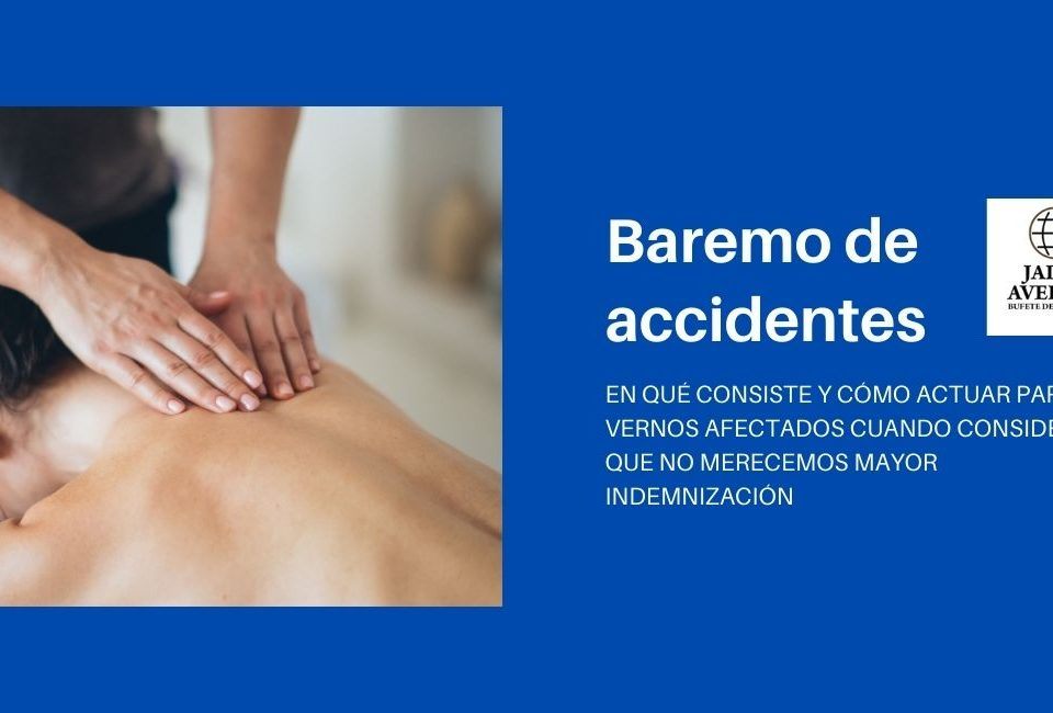 Baremo de accidentes