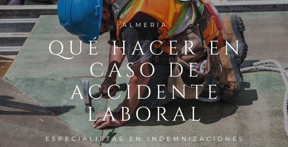 Indemnización por accidente laboral