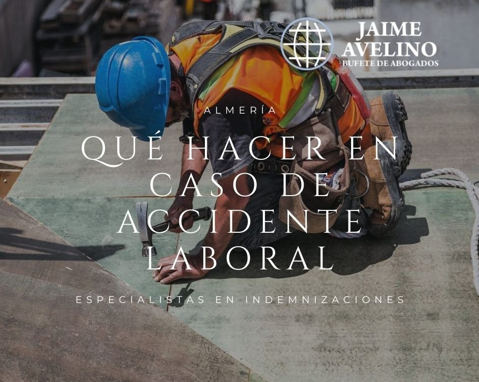 Indemnización por accidente laboral