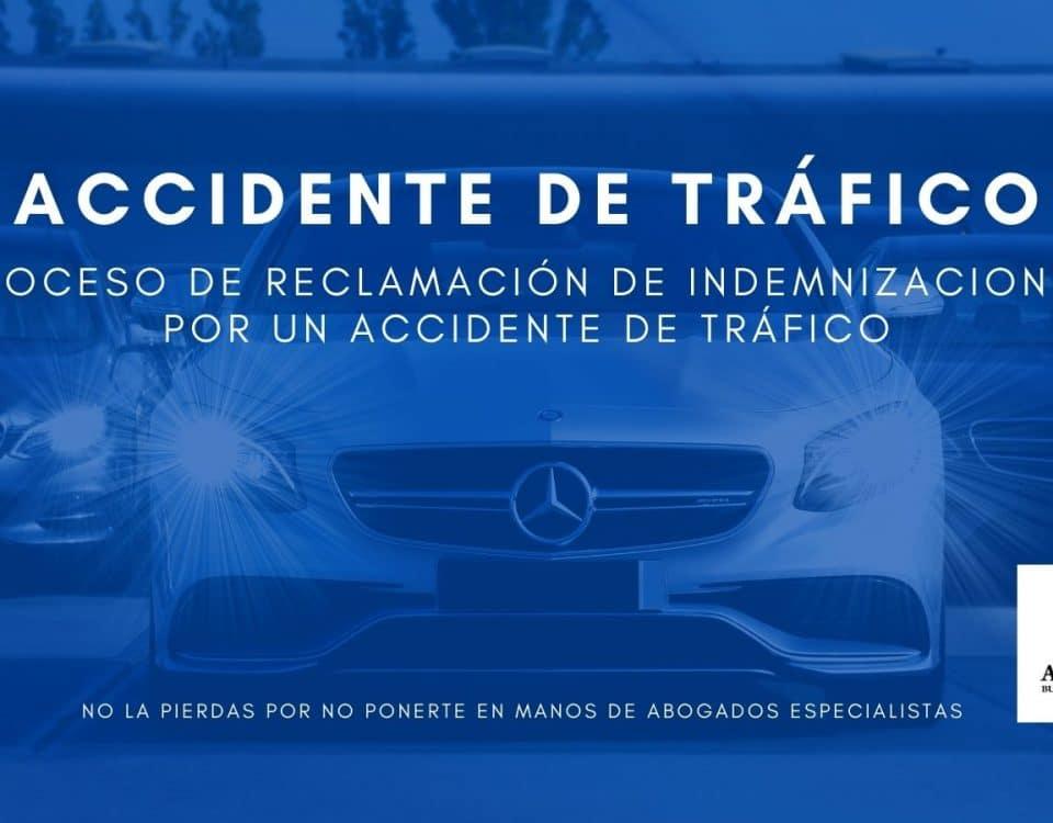 Proceso de reclamación de indemnizaciones por un accidente de tráfico