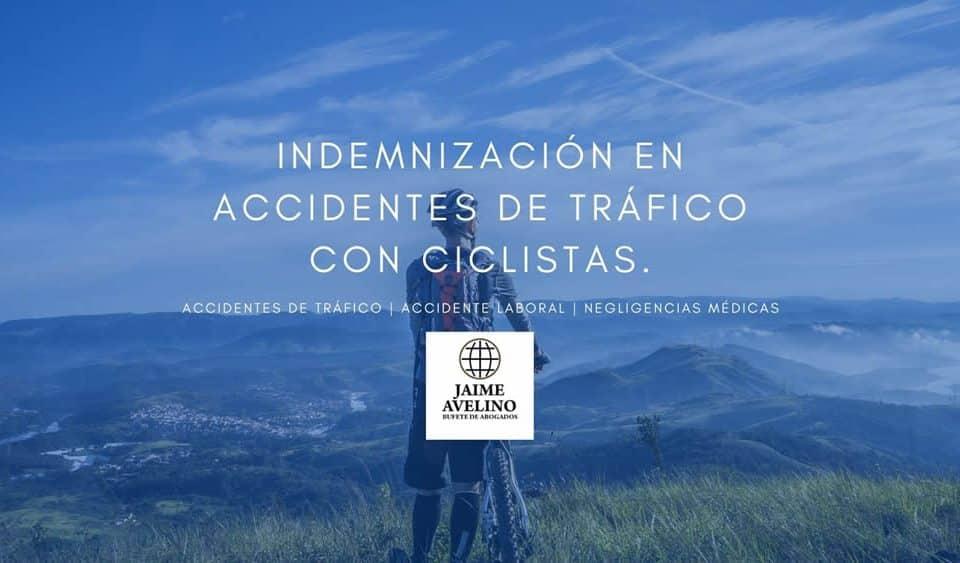 Indemnización en accidentes de tráfico con ciclistas bicicleta