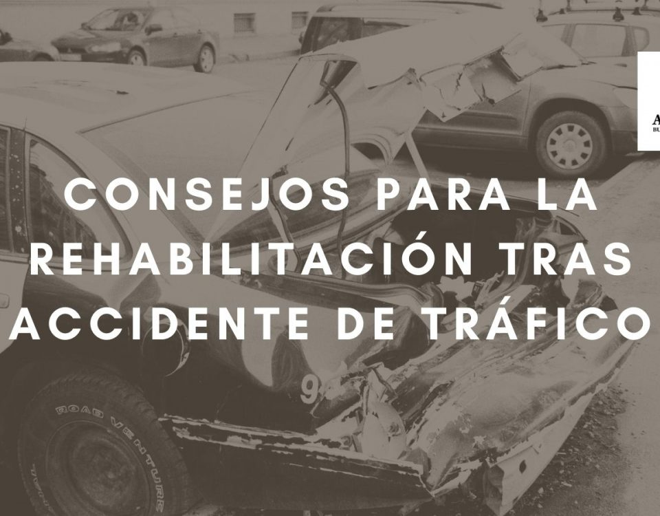 Rehabilitación tras un accidente automovilístico. Consejos útiles.
