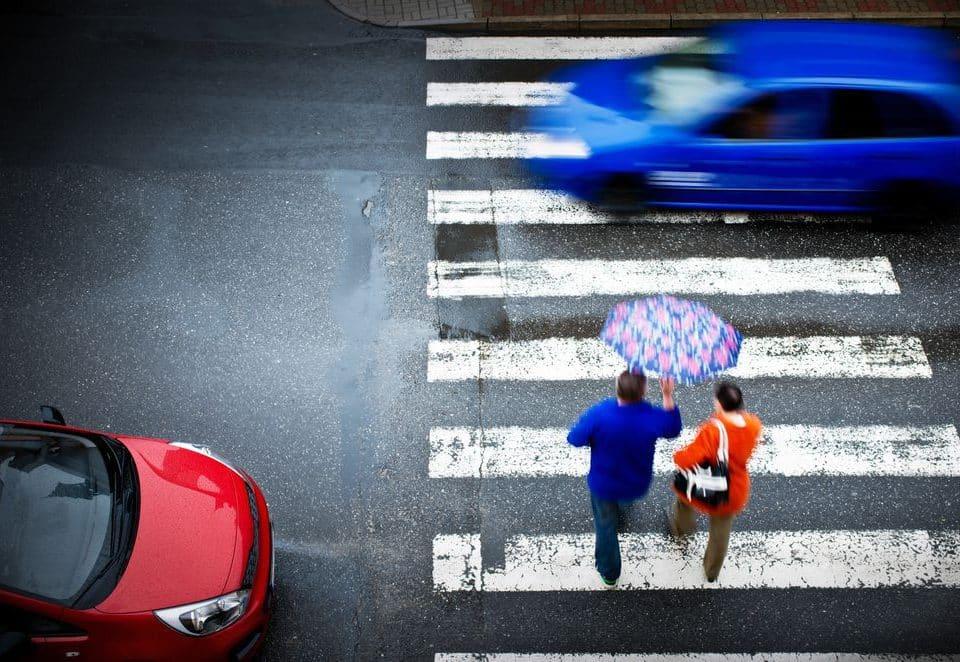 Indemnización por atropello en paso de peatones